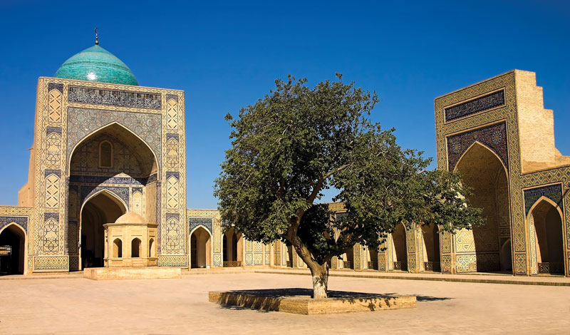 Kalyan-Mosque-Bukhara-Uzbekistan